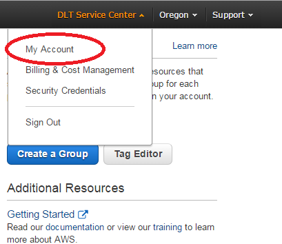 How To - Change Root Email Address, Password, or Account Name – DLT Operations Center